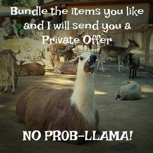 Other - Private Offers No Prob-llama!